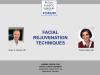 Facial rejuvenation techniques